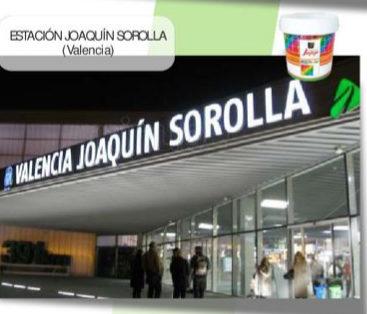 Estación de Valencia-Joaquín Sorolla