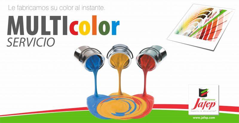 Multicolor Jafep